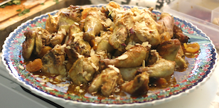 Chicken with Apricots & Almonds - ​Mahmudiye