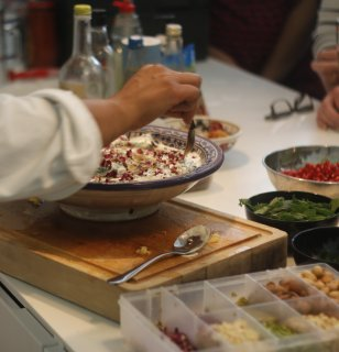 Mezze Masterclass in Little Venice, London