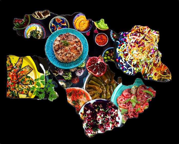 Invitation to celebrate food from the across the Middle East & Persia